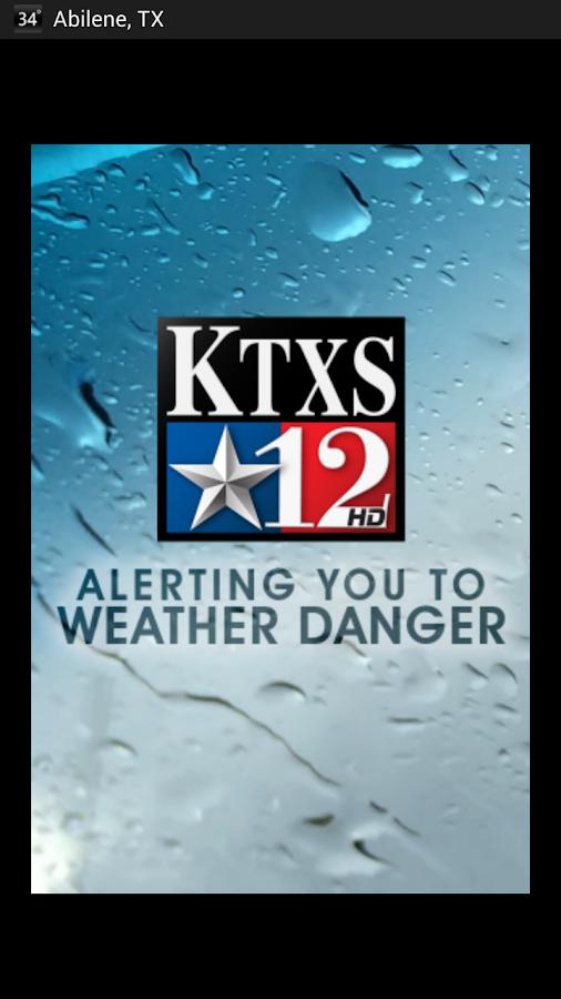 KTXS Wx - screenshot