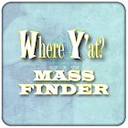 The Where Y'at Mass Finder icon