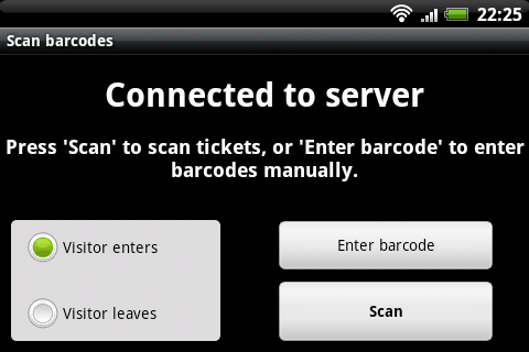 BarcodeChecker for Tickets- screenshot