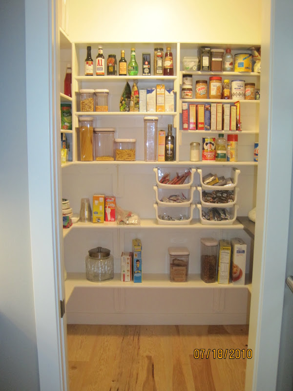 Minimum Size For Walk In Pantry