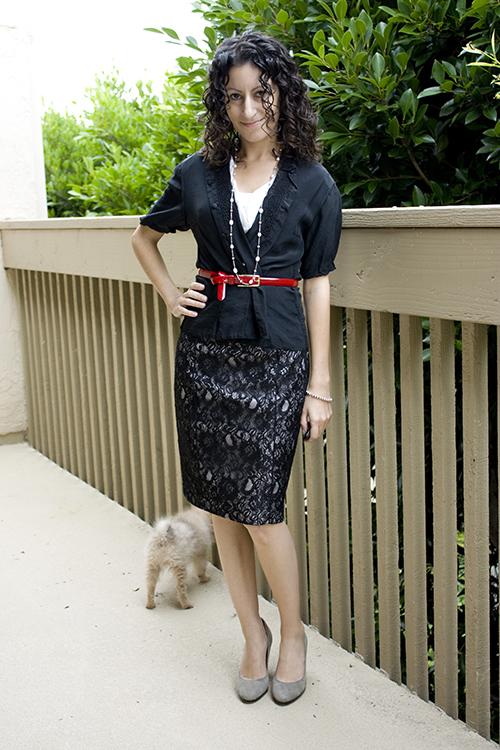 Petite H&M Lace Skirt