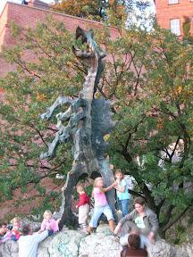 El dragón de Cracovia