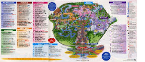 Mapa de Magic Kingdom Orlando