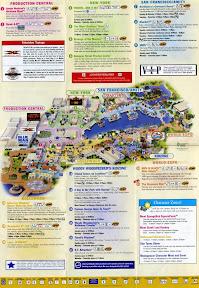 Mapa de Universal Studios Orlando