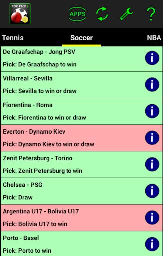 Top Picks - sport betting tips