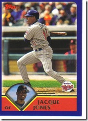 Card 22 Jacque Jones