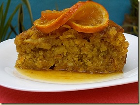 Cooking in Mexico Orange Almond Cake 072