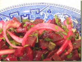 Healthy Living in Kuwait Beetroot Salad