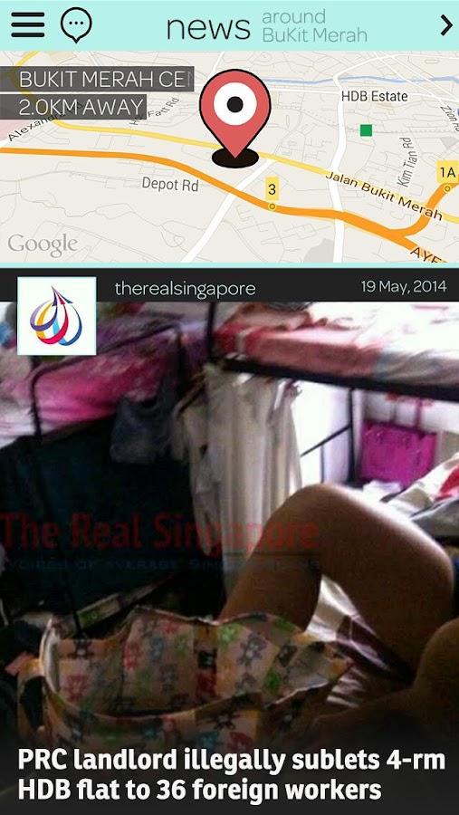feecha: neighbourhood news app - screenshot