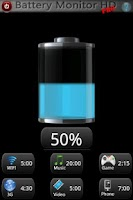Screenshot of Battery Monitor HD PRO
