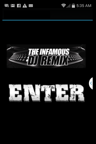 The Infamous DJ Remix
