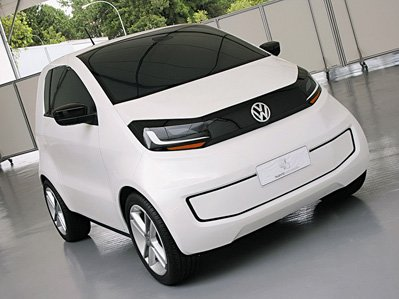 Volkswagen has shown a prototype of the double city car
