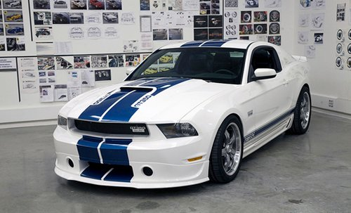 2011 Shelby GT350 will be judicial car of NASCAR