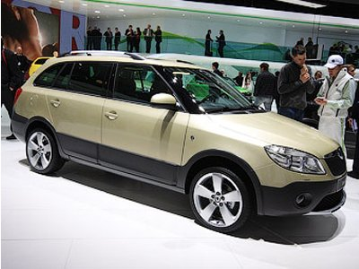 Skoda has updated off-road car Fabia