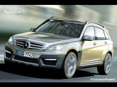 At Mercedes GLK there will be a reduced copy