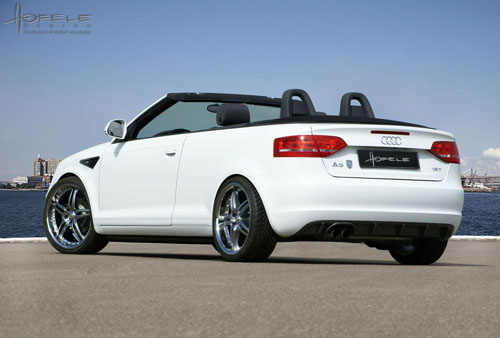 Hofele has turned the look on cabriolet Audi A3