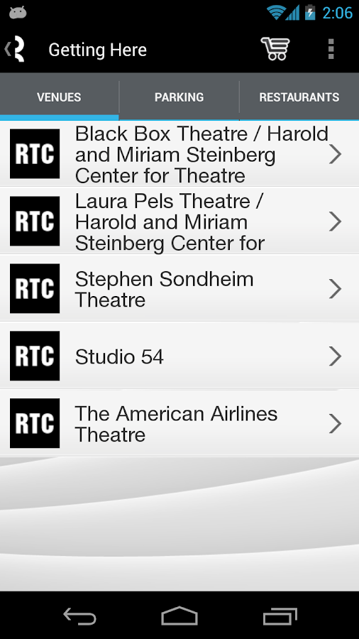 Roundabout Theatre Company - screenshot