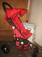 3 Kereta bayi JUNIOR 808 Quick Smart - easy fold