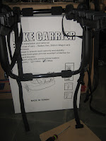 Bike Carrier with Secure Frame Holders UNITED COMPONENT