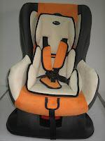 1 Baby Car Seat PLIKO PK702B with Extra Seat Pads
