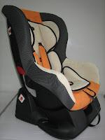 2 Baby Car Seat PLIKO PK702B with Extra Seat Pads