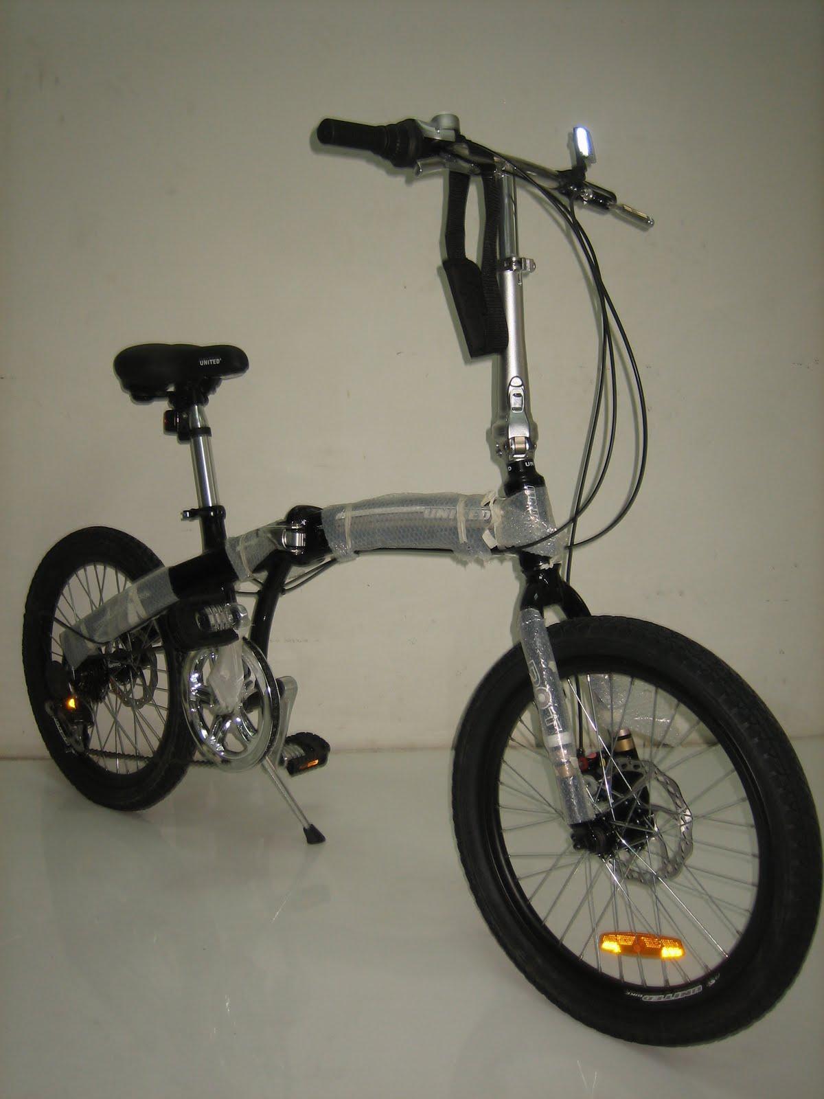 Toko sepeda online: Sepeda Lipat UNITED DOT Disc Brake