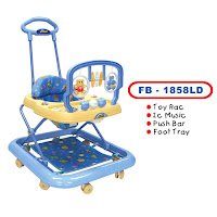 Baby Walker FAMILY FB1858LD MAINAN GT - TONGKAT