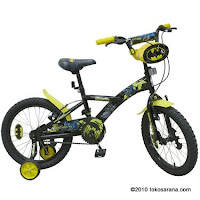 Sepeda Anak WIMCYCLE BATMAN 18 Inci