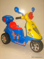 Motor Mainan Aki JUNIOR TR0903 Scoopy in Blue