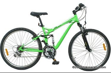 Tokosarana Mahasarana Sukses Sepeda Gunung Wimcycle Maxxis S Full Suspension 26 Inci