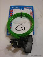 Cable Lock GENIO Diameter 8mm Panjang 900mm