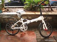 1 Sepeda Lipat ELEMENT CONCEPT Suspension 20 Inci