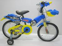 1 Sepeda Anak JUNIOR 1606 STARWARS 16 inci