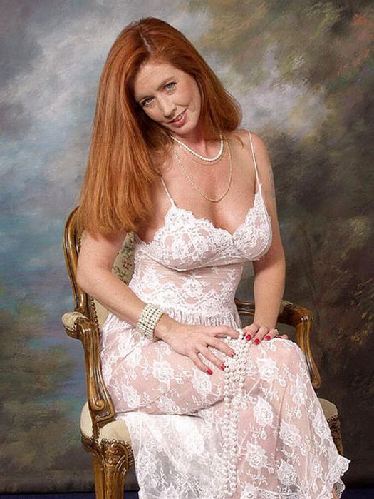Mature freckled redheads regret, that