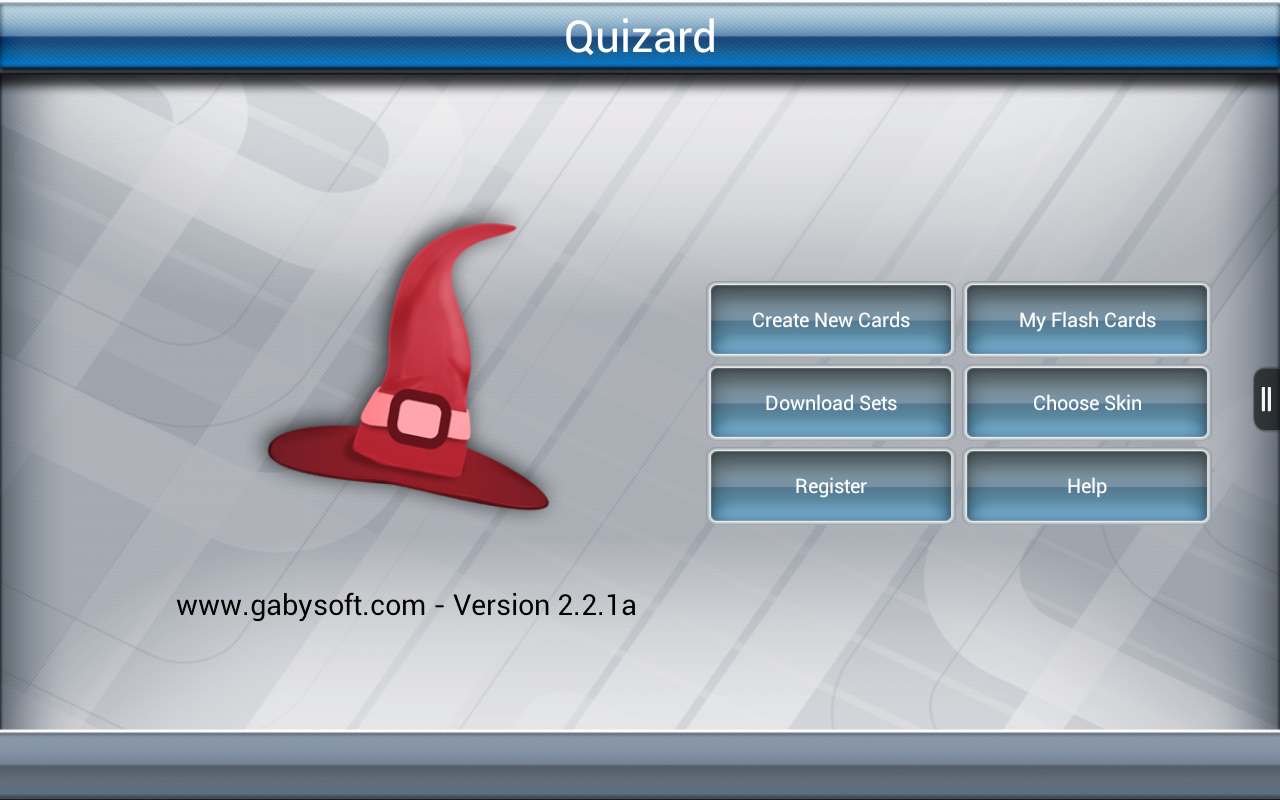 Quizard Flashcards- screenshot
