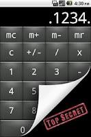 Screenshot of Private Calculator Lite