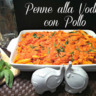 Penne alla Vodka con Pollo