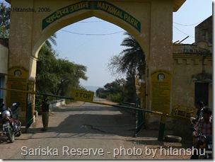 sariska reserve India