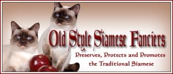 old style siamese fanciers logo