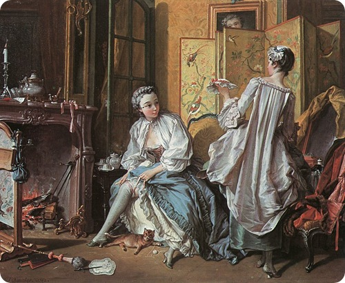 Boucher La toilette 1742