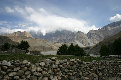 Northern Pakistan part of the range of the snow leopard