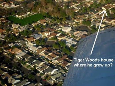 Tiger Woods House where he grew up