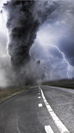 雷暴的動態壁紙