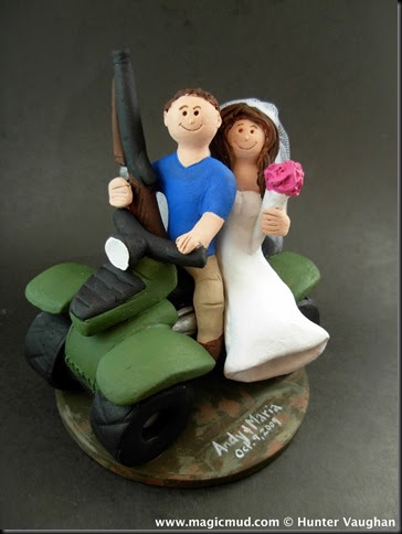 atv wedding cake topper custom wedding cake toppers on atv wedding cake topper 10890