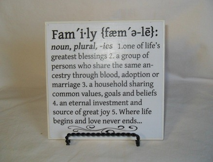 Keen Inspriations Family definition Printable