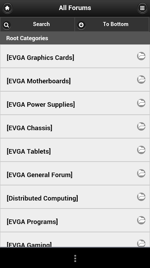EVGA - screenshot