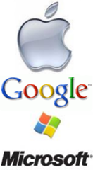 Apple Google Microsoft 150x272