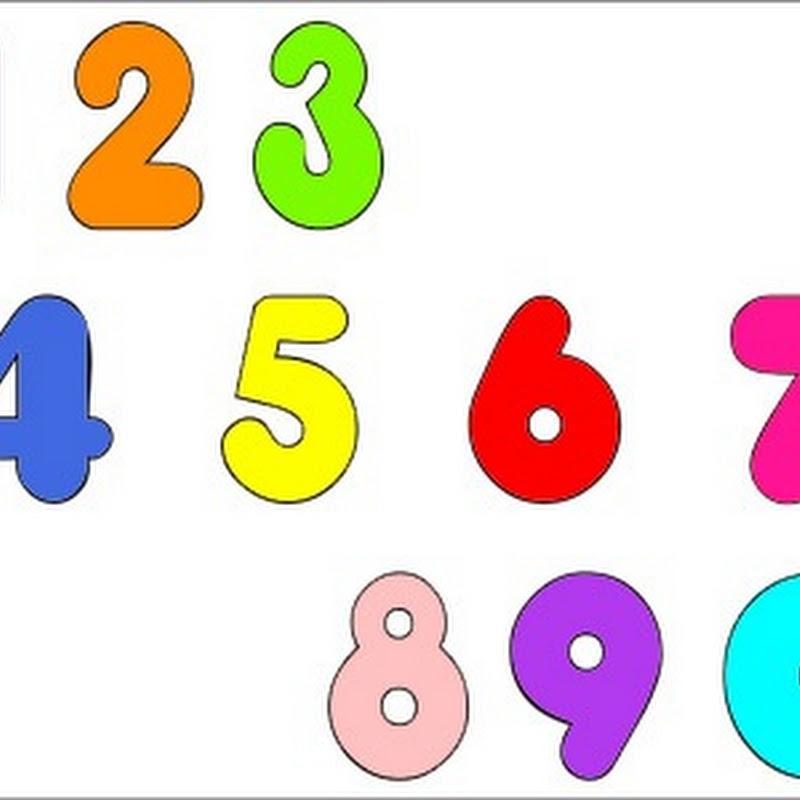 Números Para Pintar
