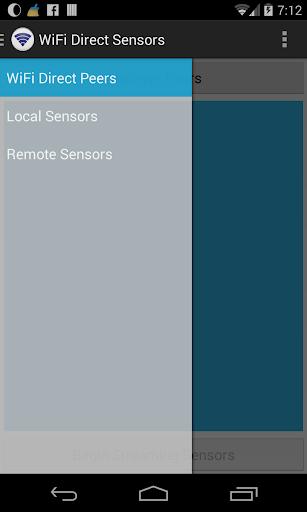 WiFi Direct Sensors