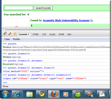 XSS, Passwords theft using JavaScript   <Martani/> Blog